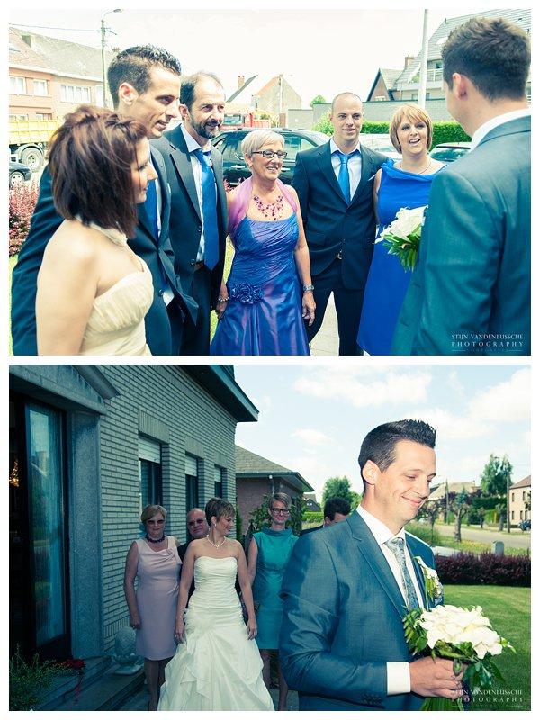 Trouwfotos BRam en Christel_0010 bruidegom wahct op bruid