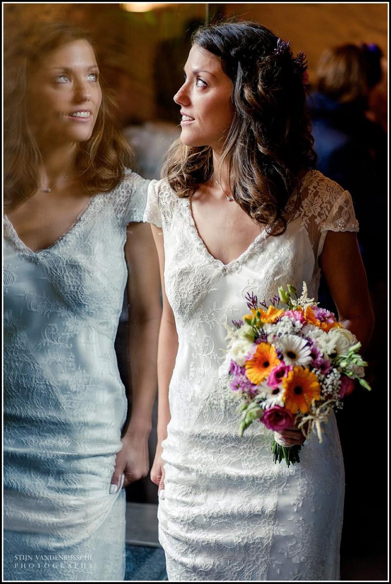 portret van bruid