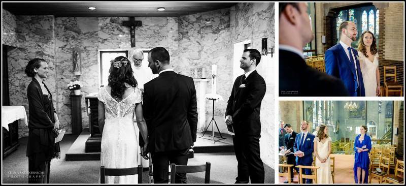 kerkelijk huwelijk in sint-amans